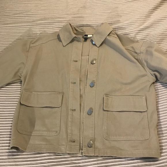 Beige medium jacket from H&M